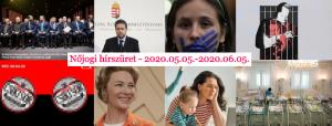 Nőjogi hírszüret - 2020. 05. 05. - 2020. 06. 05.