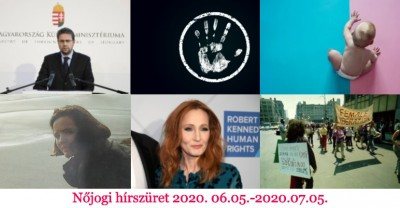Nőjogi hírszüret - 2020. 06. 05. - 2020. 07. 05.
