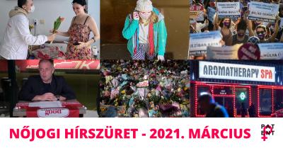 Nőjogi hírszüret - 2021. március